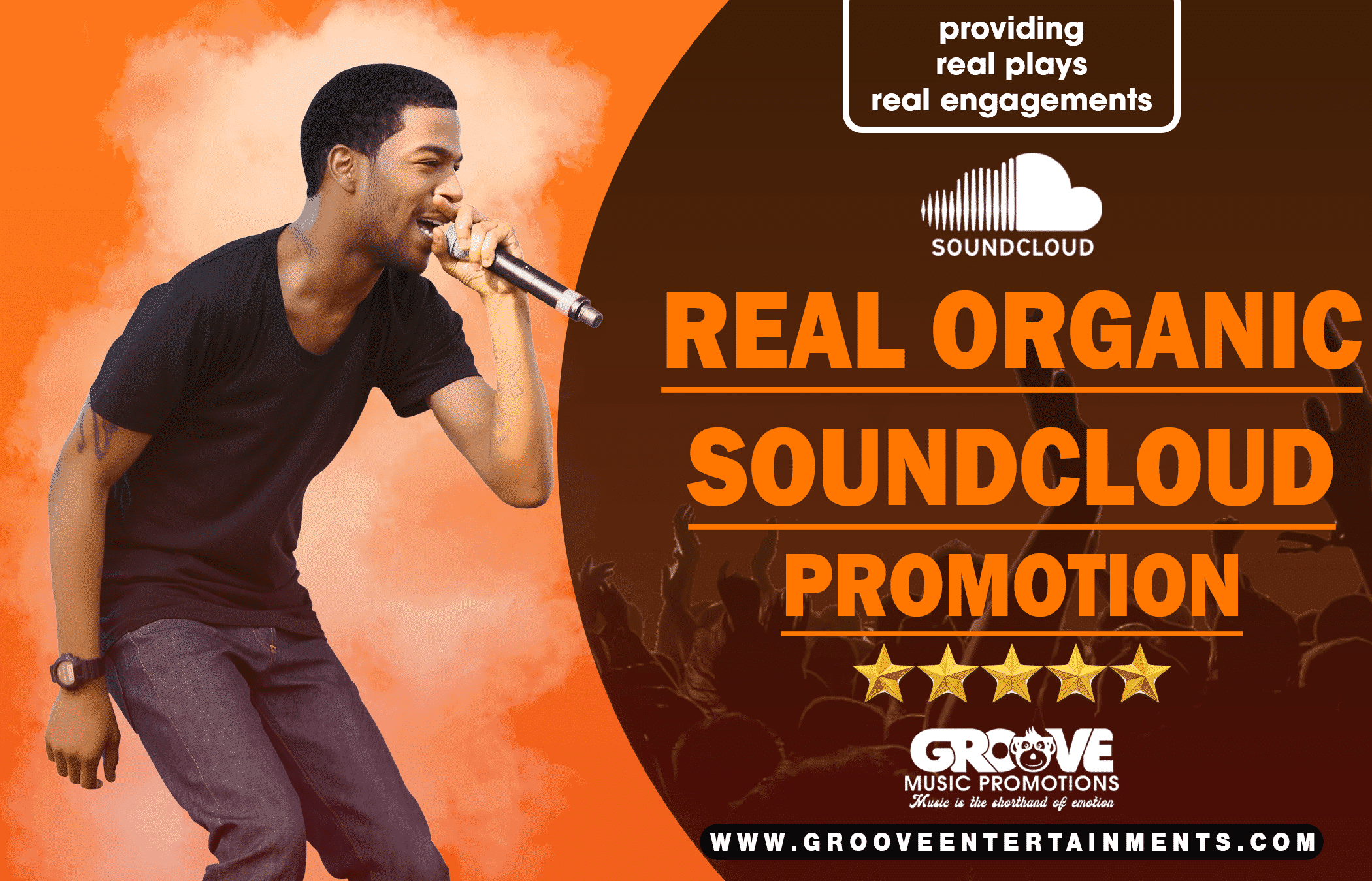 REAL AND ORGANIC SOUNDCLOUD  PROMOTION